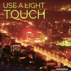 use a light touch2